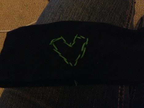 Headband for St Patrick's day by unknown-fangirl