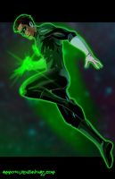 G - is for Green Lantern by Ammotu