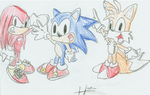 Team sonic goofy style by FANG-FOREVER