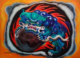 Foo Dog by dx