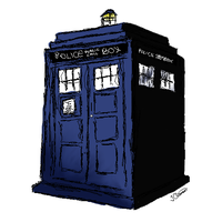 The TARDIS by jevibecl10