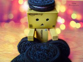 Danbo with Oreos by Missorys