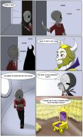 Undertale green Page 2 chapter 1 by FlamingReaperComic