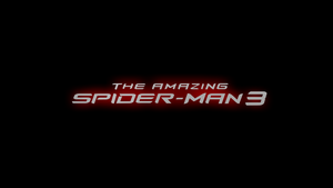 The Amazing Spider-Man 3 Logo Poster by ProfessorAdagio