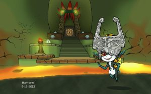 Midna in Wind Waker by Mortdres