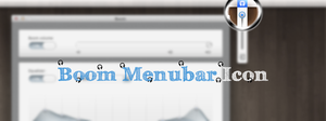 Boom Menubar Replacement Icon by luisperu9