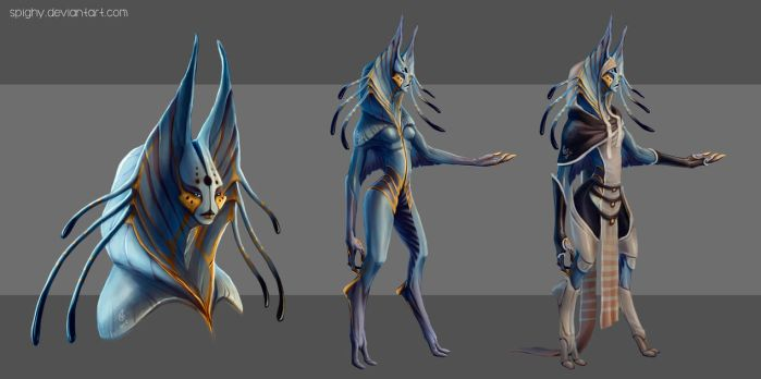 Kiryan female_final version and costume design by Spighy