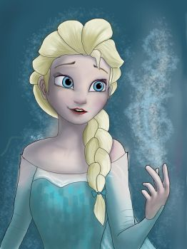Queen Elsa of Arendelle by Silent-Valiance