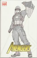 Aveng 1 WWII Captain America by MarOmega