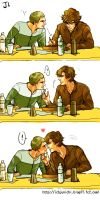 BBCSherlock- Just Kiss him by J1-junichi