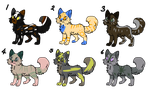 Cat Adoptables #6 (LOWERED PRICES) by AnimalLover670