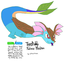 Fakemon: Treefiddy by PalaceOfChairs