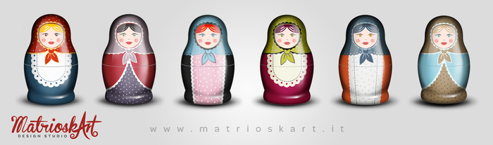 Matryoshkas by Matrioskart