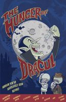 The Hunger of Dracul LE print by Bourrouet