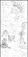 Sketches for the Skeptics by PixleRelish