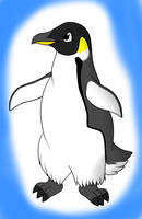 Emperor penguin SAI by Enricthepenguin92