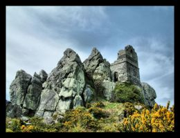 Hermit's chapel 2 Roache Rock by Pjharps