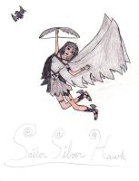 Sailor Silver Hawk by gothicpysi