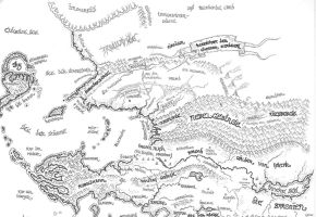 Map of Northern Myrith by alexine-pankhurst