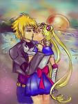 Request: Sailor Moon romance by McFearless1810