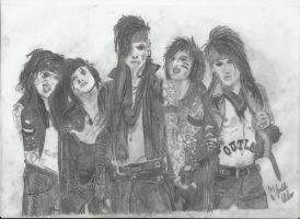Black veil Brides the 5th finished by xxdaswarwohlnix