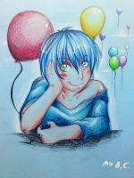 In Love with the ballons by CrazyXanimal
