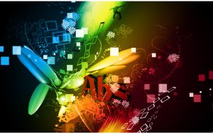 Abstract Wallpaper by aeli9