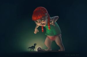Scary by Nivailis