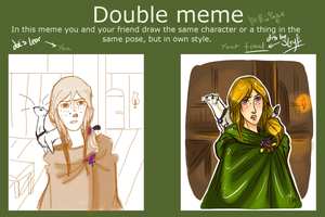 Double Meme with Sleyf by Lear-is-not-amused