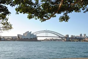 View from botanical gardens by Australisa
