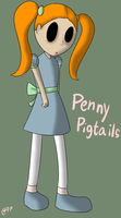Penny Pigtails by Cephei97