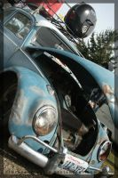 Rusty Blue Bug by BehindADisguise