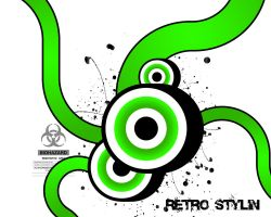 Retro_Stylin by backgrounds