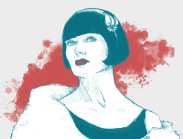 Phryne Fisher portrait by aliceazzo