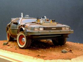 BTTF3 Delorean by davjames