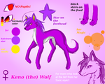 Keno (the) Wolf Reference by KenotheWolf