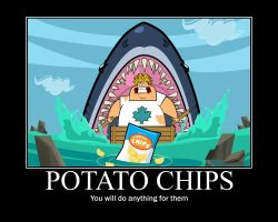 Total Drama Potato chips by AbominationOfTime