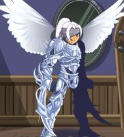 The angel of retribution by Nulgath1998
