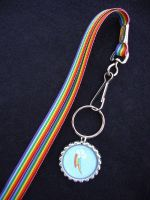 Rainbow Dash Lanyard by Monostache