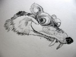 Scrat by chrisravensar