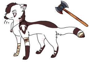 Hunter!cry ref. by MeowingGrave