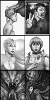 Greyscale by lydia-the-hobo