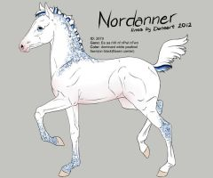 2679 Nordanner foal design by Ikiuni