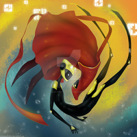 Abzu and Journey: Between Two Worlds by SasaSahara