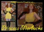 Princess Morbucks Cosplay PPG by FakeHonestyTrueLie