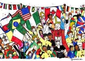 World Youth Day 2011 Bookcover Mockup (FINISHED) by troisnyxetienne