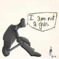 I Am Not a Gun by Numb-Numble