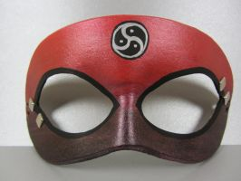 Red Simple Masquerade by maskedzone