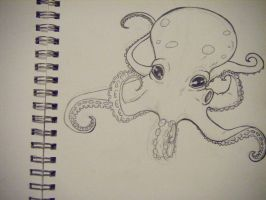 'nother octopus by comritza