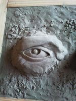 Clay doodle eye by foxdog77